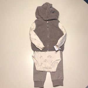 3-Piece Micro-fleece Set